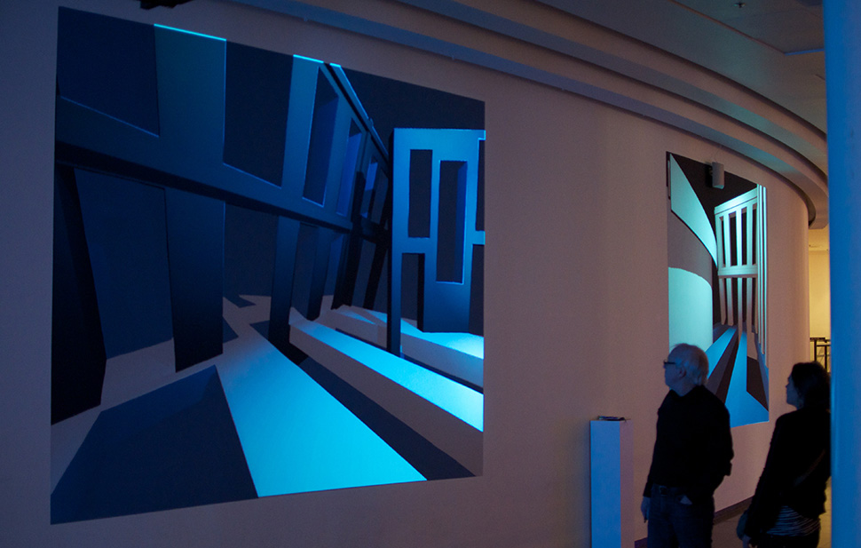BlauweUur-DuringTefaf-interactive-mural